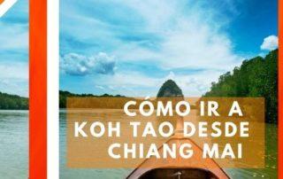 Cómo ir a Koh Tao desde Chiang Mai
