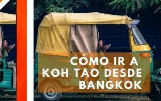 Cómo ir a Koh Tao desde Bangkok
