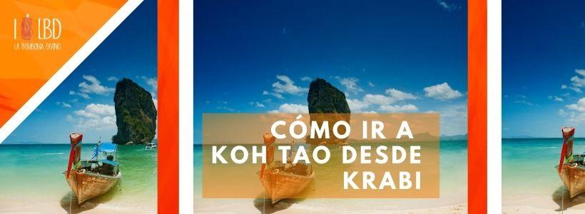 Cómo ir a Koh Tao desde Krabi