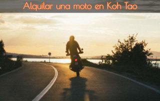 Alquilar una moto en Koh Tao 2