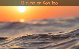 El clima en Koh Tao 1