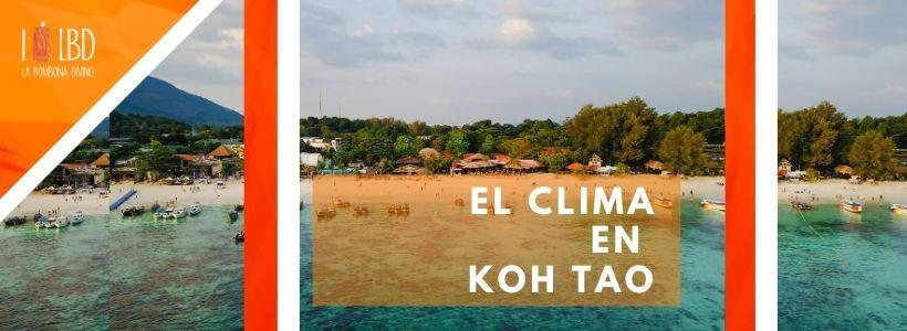 El clima en Koh Tao